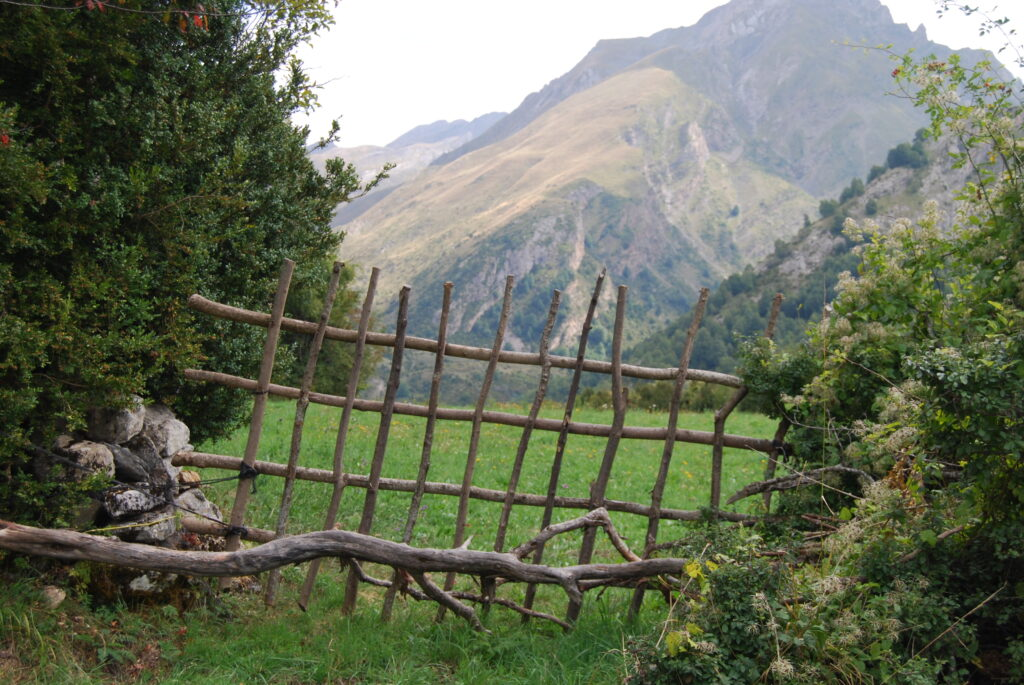 A Farmer's Gate in the Pyrenees