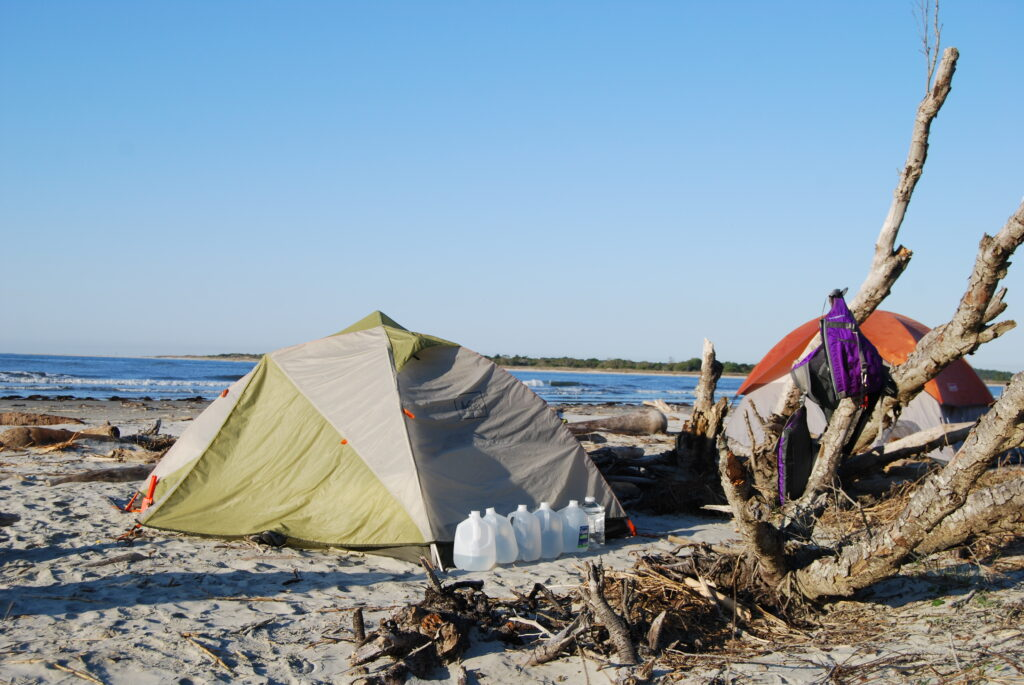 Capers Island Camping
