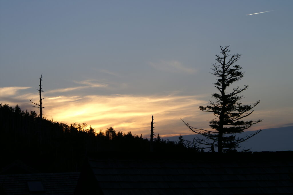 Mt. LeConte at Sunset