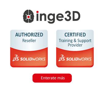 INGE3D RESELLER DE SOLIRWORKS
