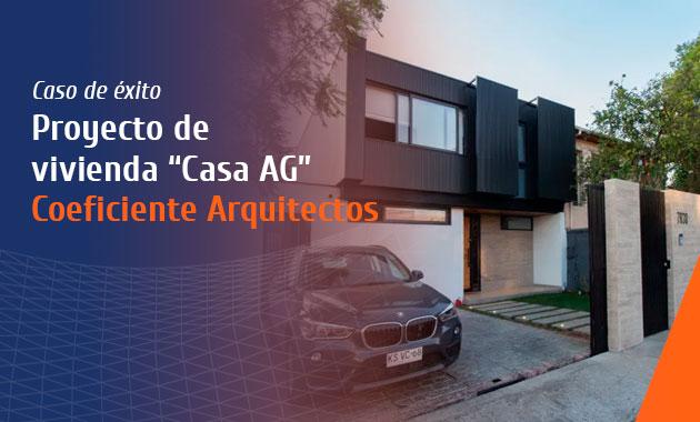 proyecto de vivienda Casa AG