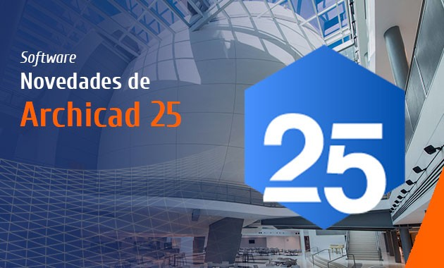 Novedades Archicad 25