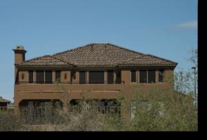 Solar Sun Screens on House