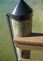 Piling Cap and Fender For Dock