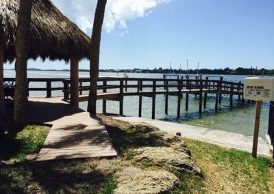 Beachy Dock and Tiki Bar