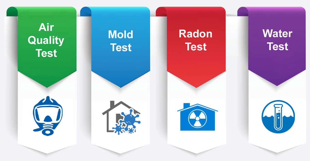 Air Quality Mold Radon Water Testing