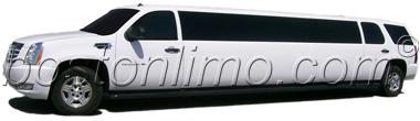 Boston Limo Cadillac Escalade Super Stretch SUV Limousine