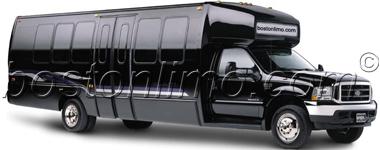 Boston Limo Limousine Bus