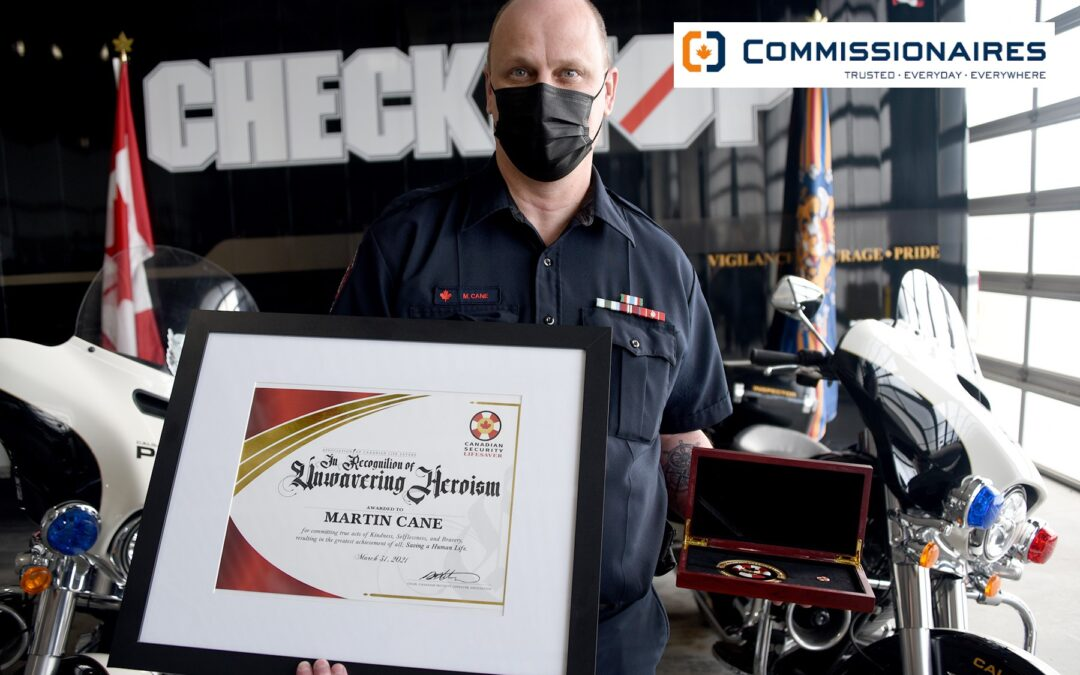 Q1 2021 Winner: Martin Cane, Commissionaires
