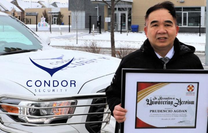 Q4 2020 Nominee: Prudencio Agdan, Condor Security