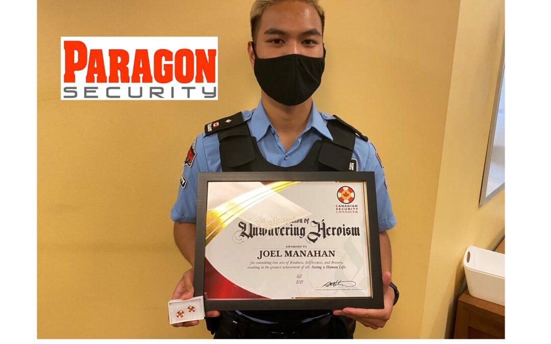 Joel Manahan CSLA award