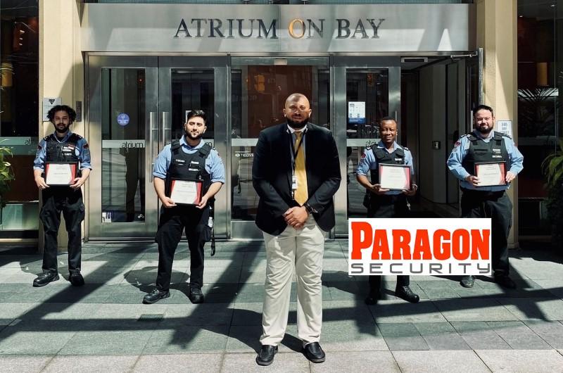 Paragon Security team saves lives