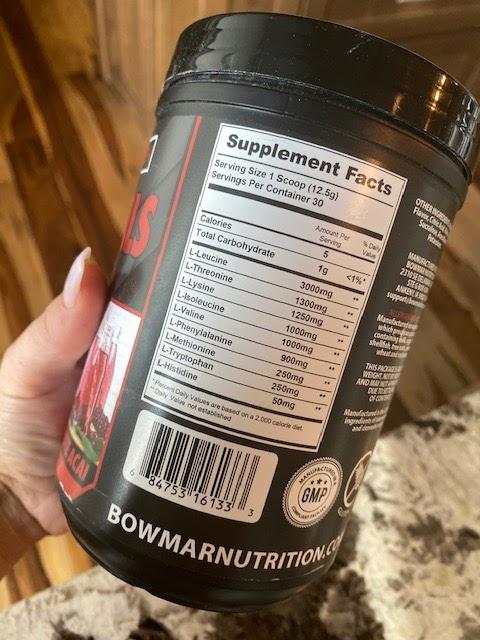bowmar nutrition EEA vs BCAA