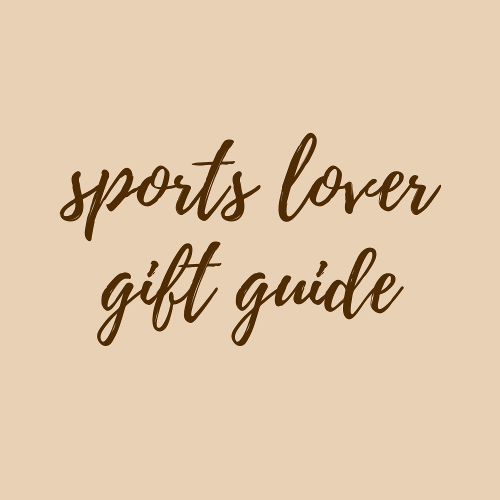 Sports Lover Gift Guide