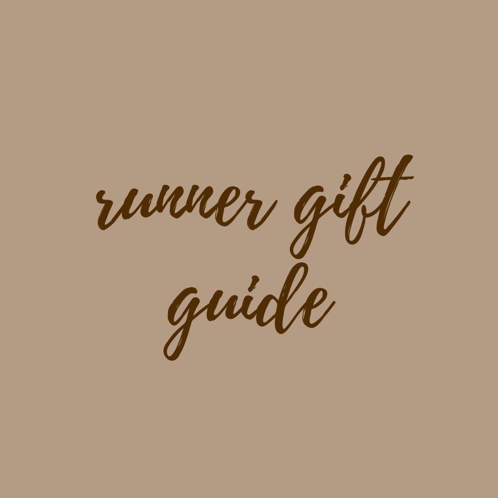 Runner Gift Guide