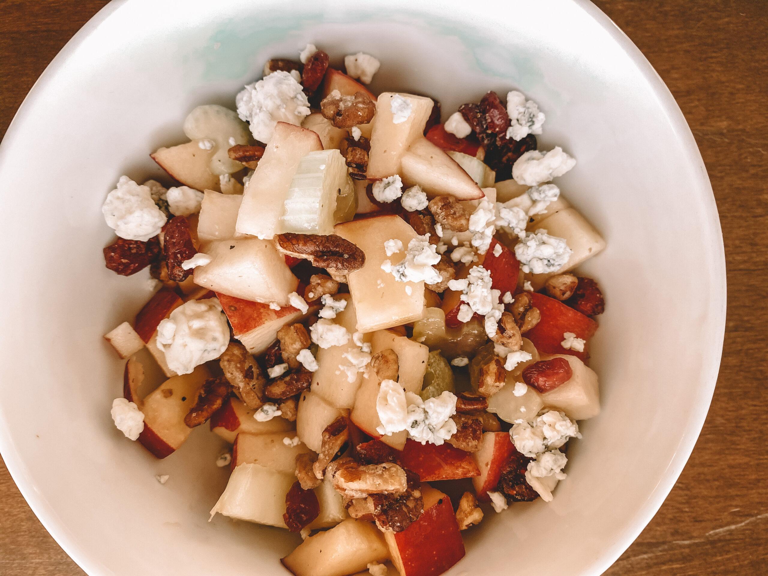 Apple Pecan Fall Salad