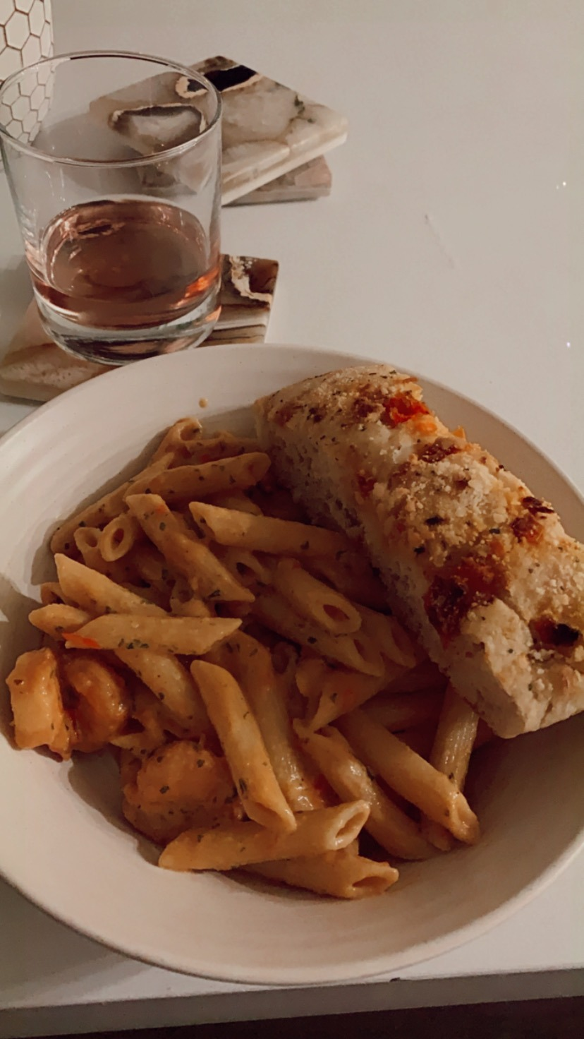 Bang Bang Shrimp Pasta–Bonefish Grill Copycat Recipe