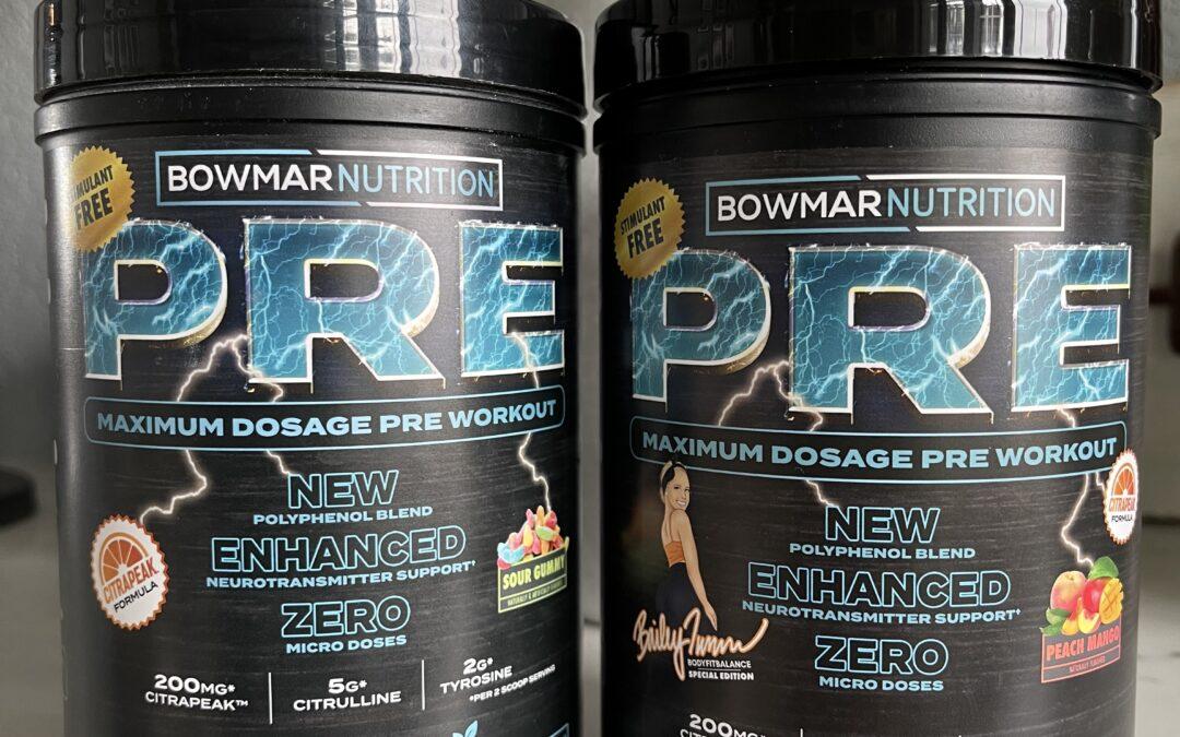 Breaking Down Stimulant Free PRE