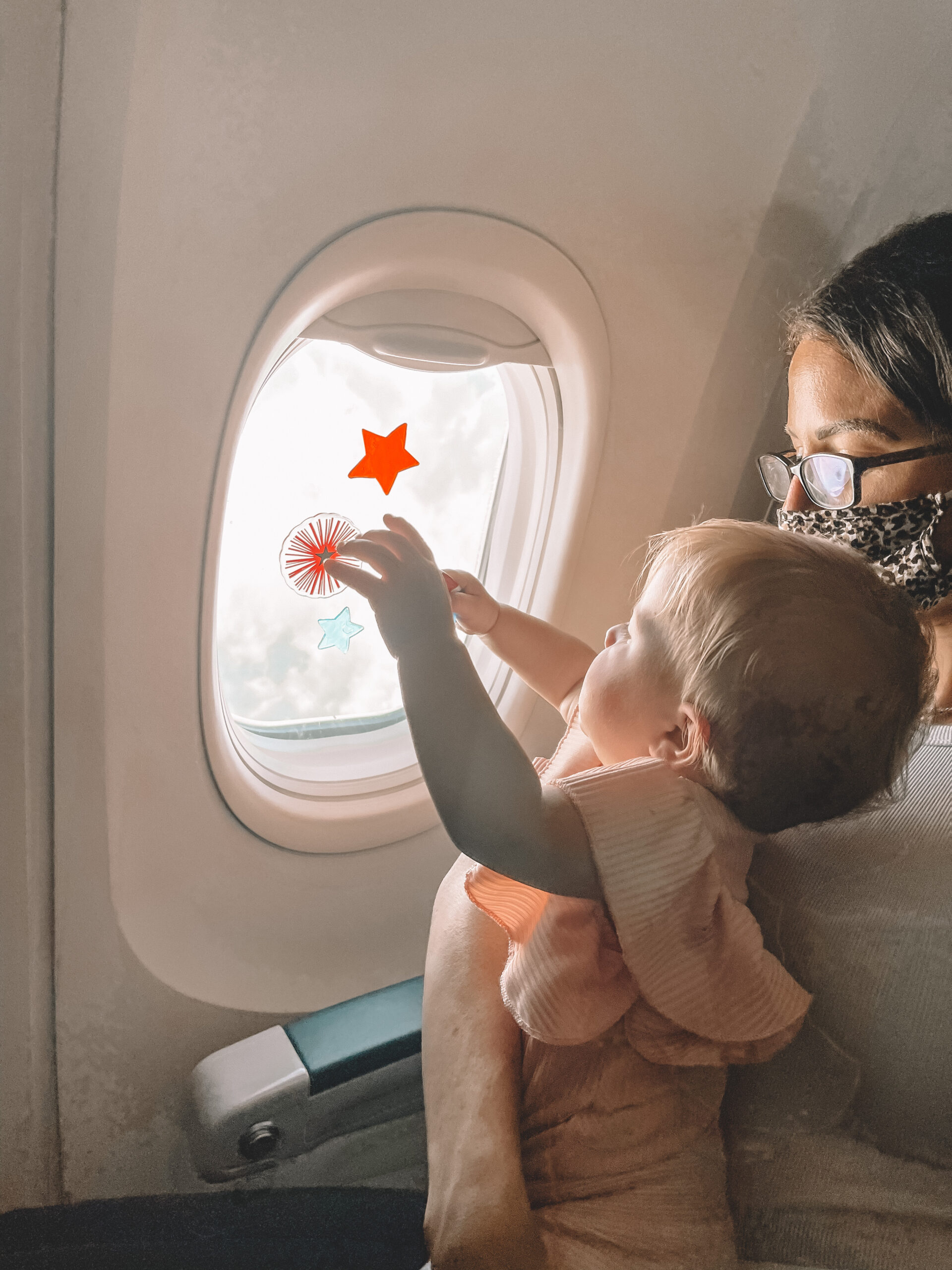 flying with a 9 month old