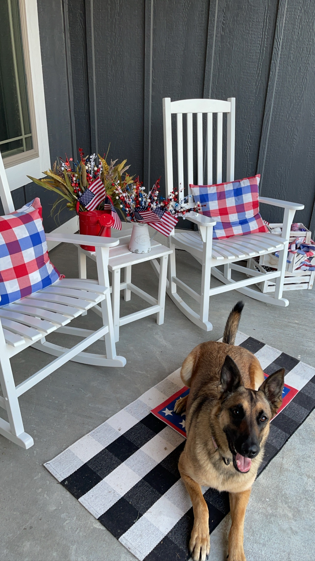 sarah bowmar patriotic porch