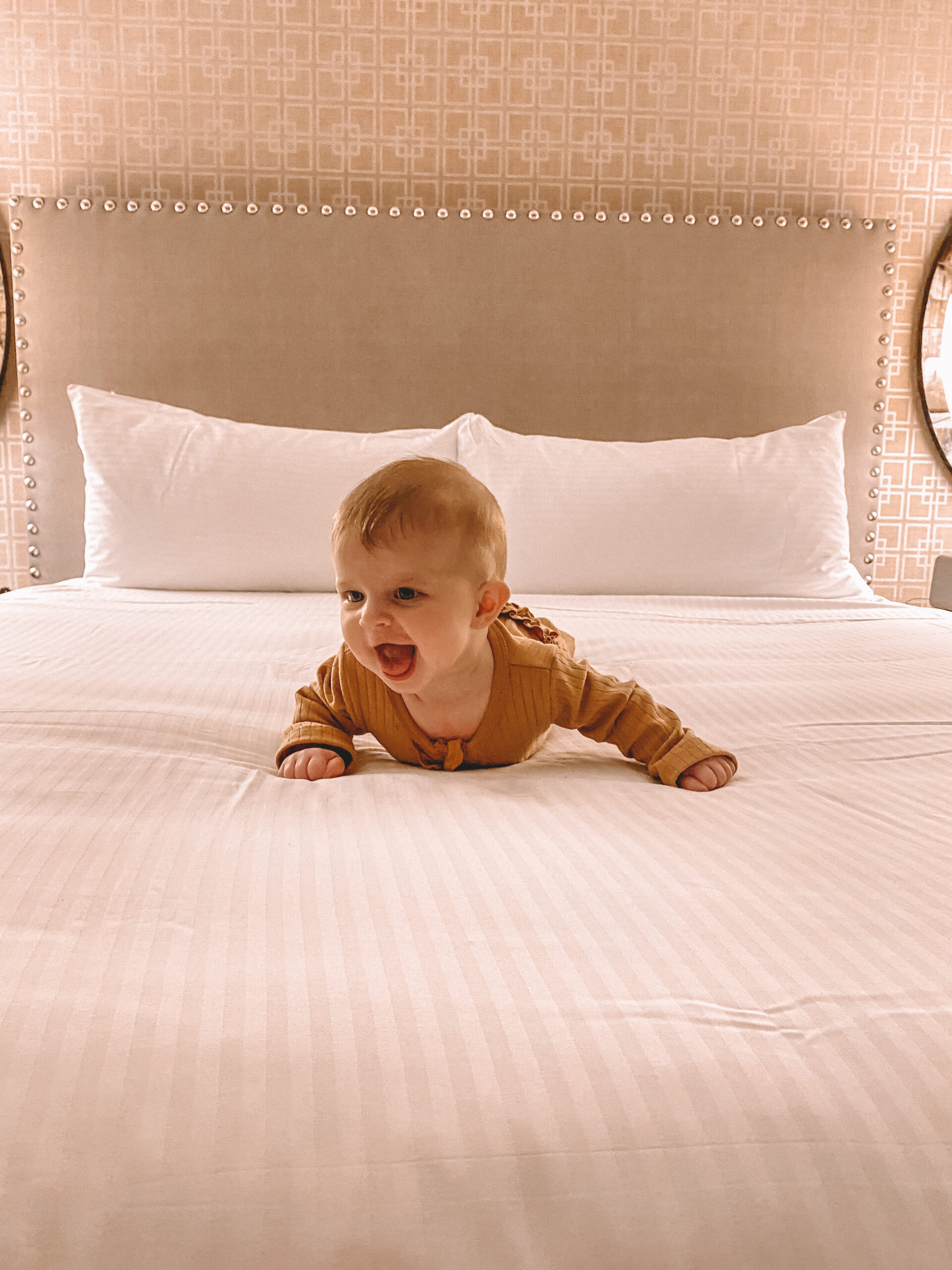 7 tips to survive a hotel with a baby