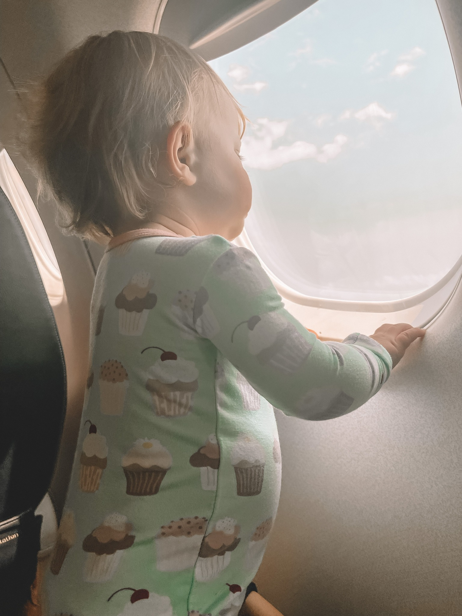 Flying International With a Toddler