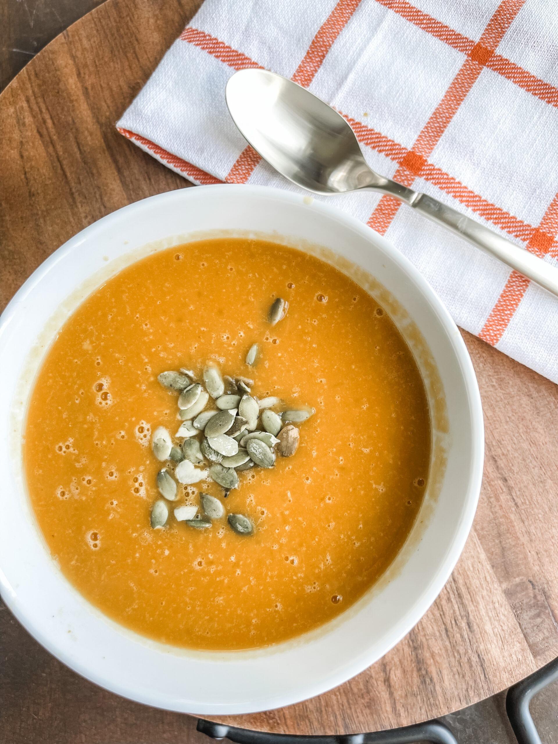 15 Minute Pumpkin Soup Recipe