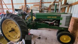 1951 Model B John Deere Tractor