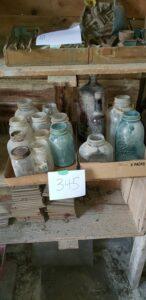 Glass Jars and Jugs