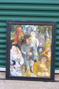 Richard Pinney Oil Painting