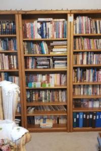 Books and Bookshelf