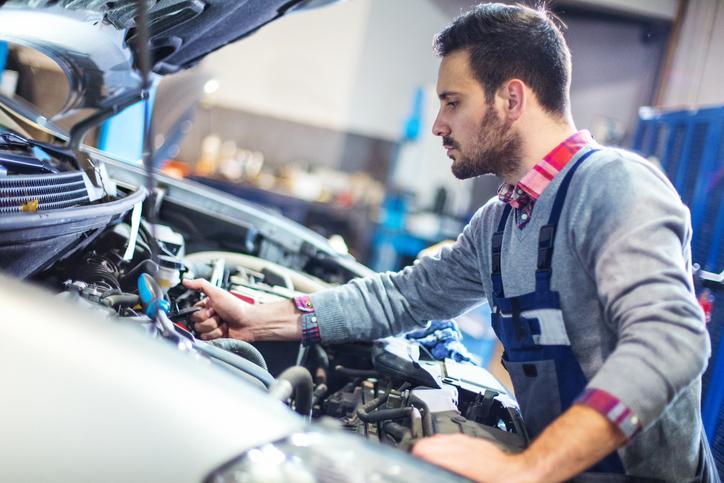 Repairing vehicle electronics