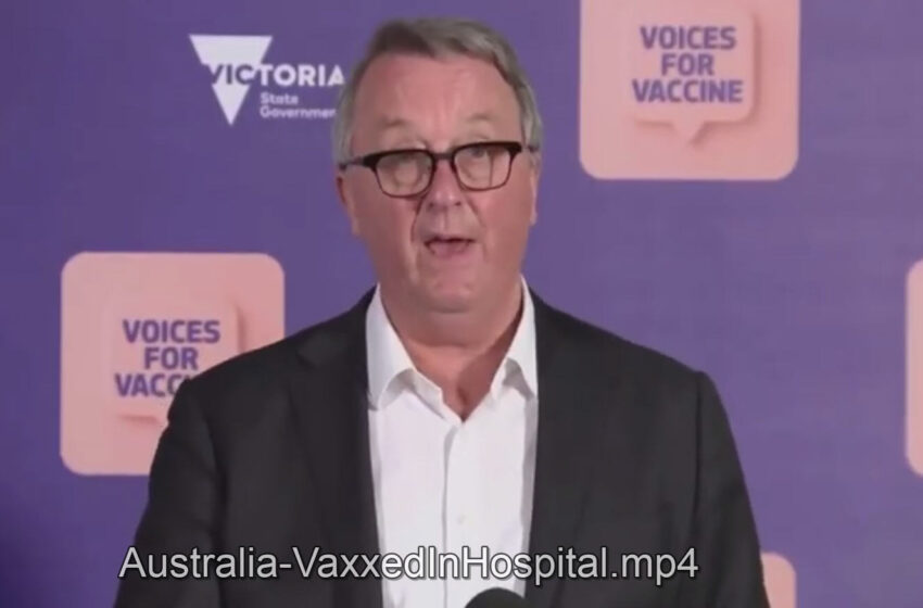 (1 min) – Australia – Only 5% of latest hospital admissions of 385 people for Covid – were UNVACCINATED.