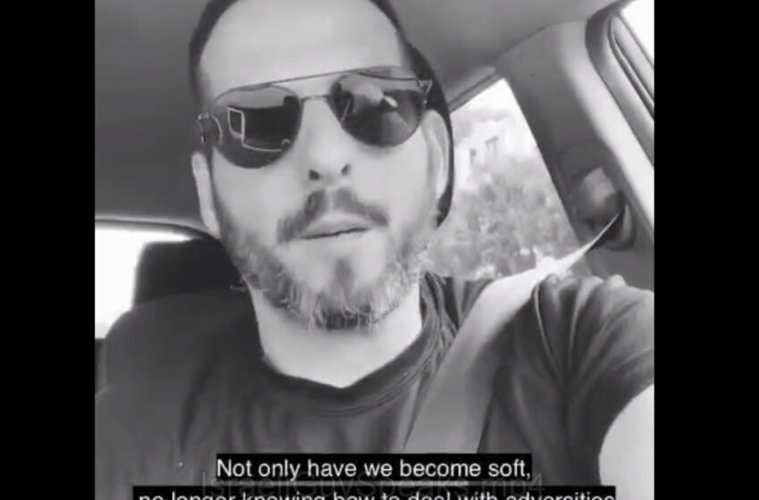 (3 mins) – An Israeli Guy Plainly Speaks Brave & Perfect Truth