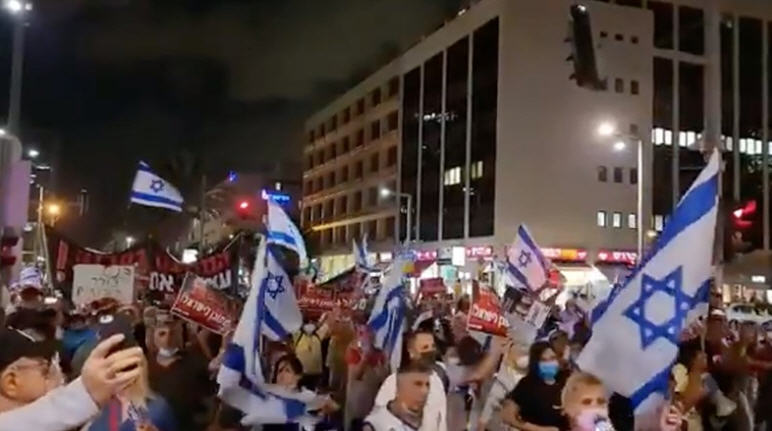 Israelis Rise-Up Against Vaxx Passports After Being Told More Shots Needed To Be Considered 'Fully Vaccinated'