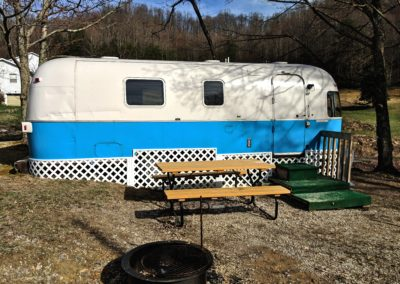 Airstream located at New River Gorge Campground