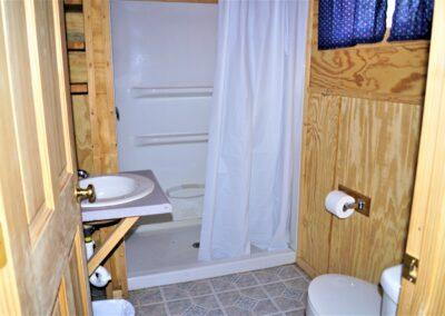 New River Cabins #5 - #7 bathroom