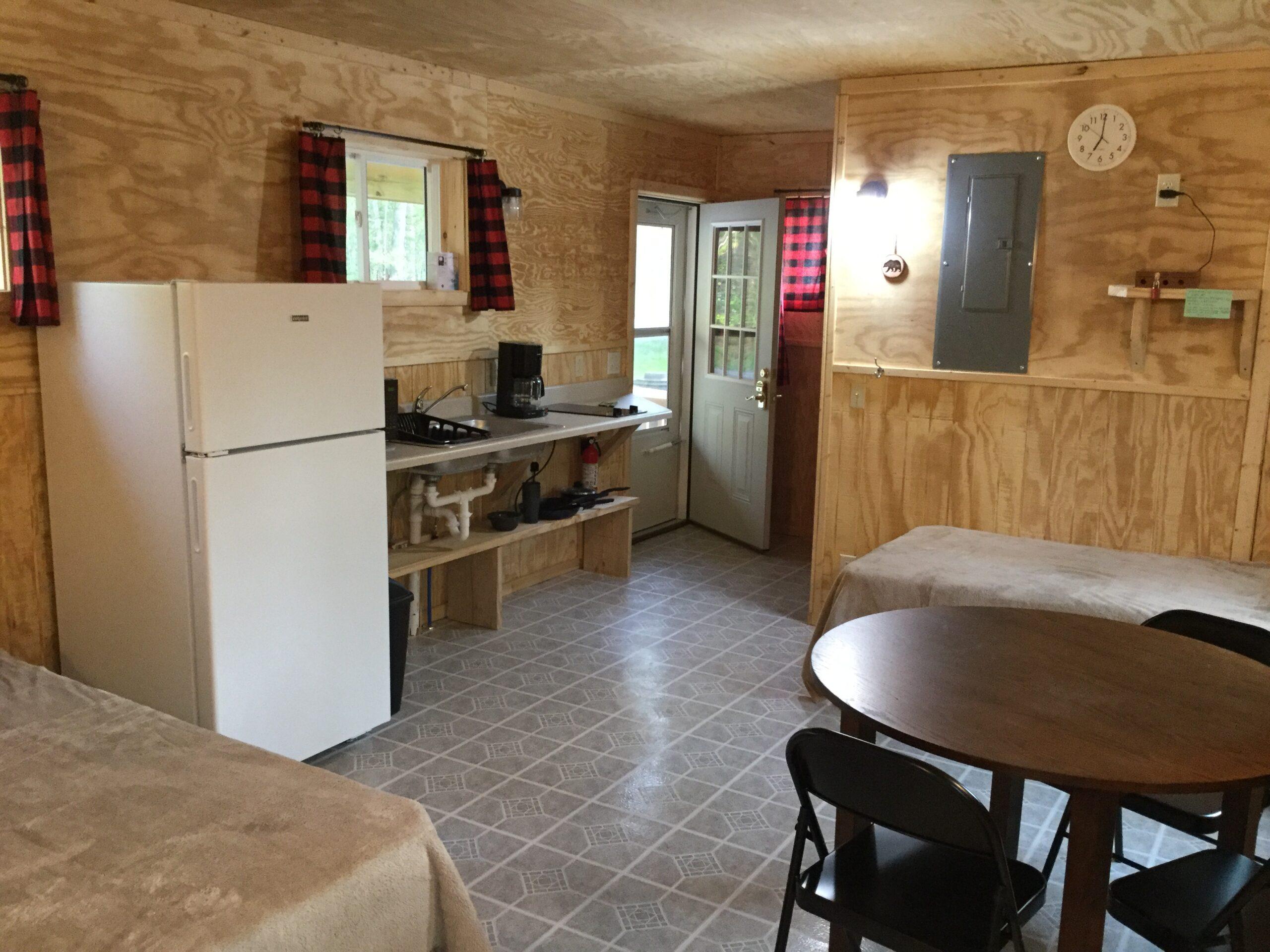 New River Cabins # 8 interior