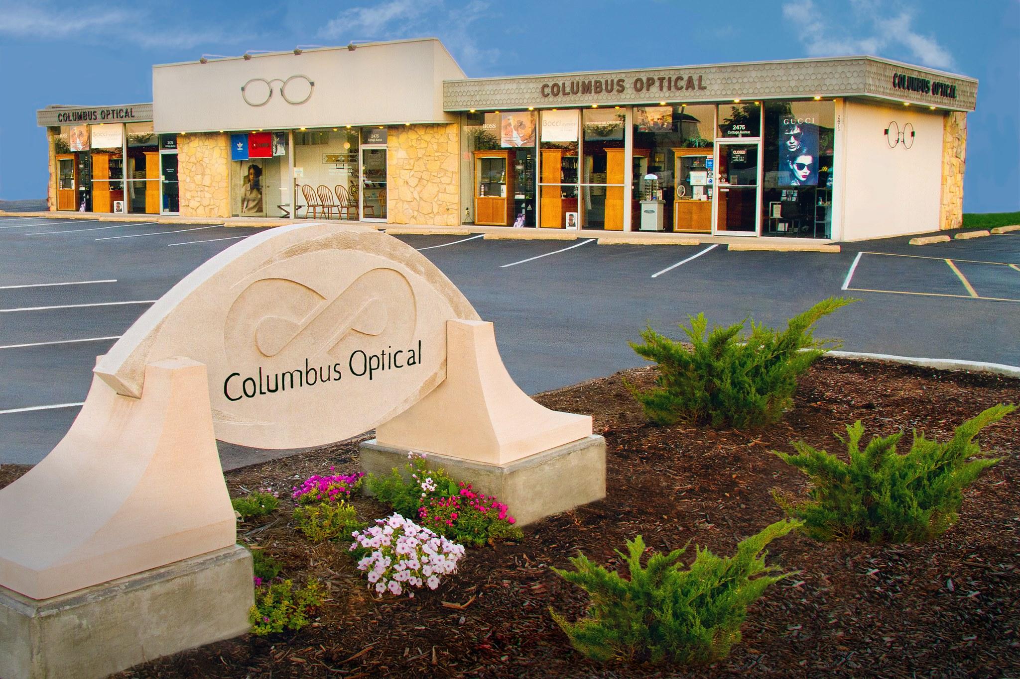 Columbus Optical - Building stylized