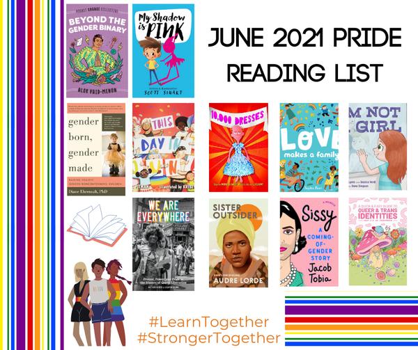 Pride Reading List!