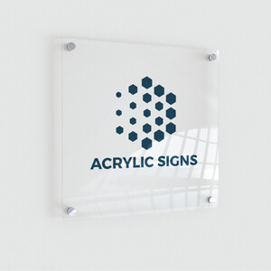 Acrylic Signs Printing Services Windsor Ontario