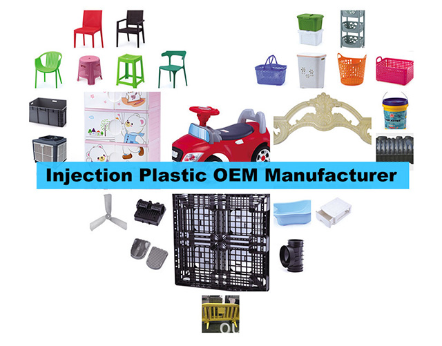 Injectie Plastic Products OEM-fabrikant in China