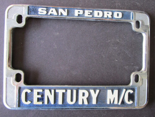 california motorcycle license plate frame