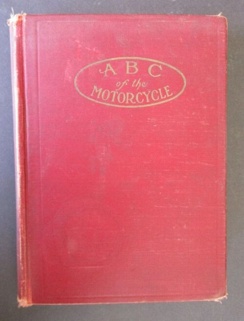ANTIQUE MOTORCYCLE BOOK