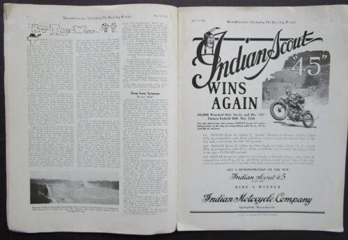 INDIAN MOTOCYCLE RACING
