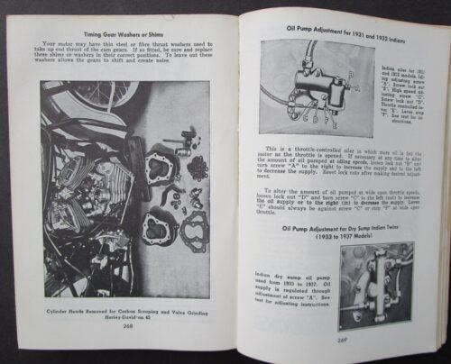 vintage indian manual