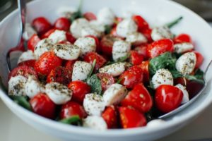 Salad In A Bowl After Gastric Sleeve In Los Angeles