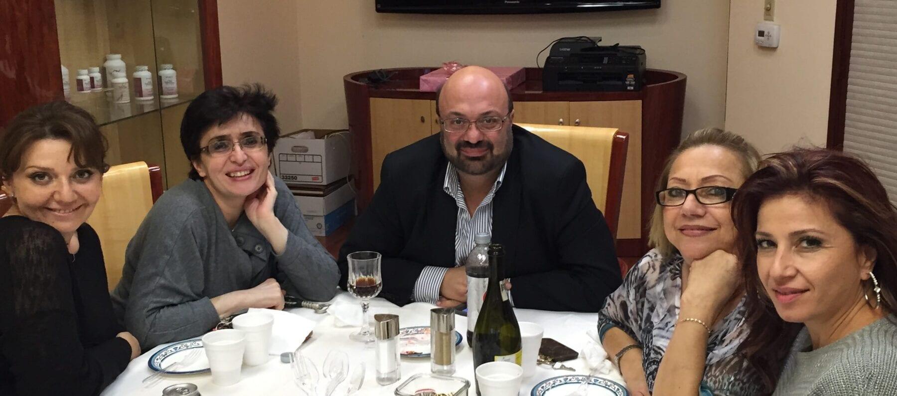 Dr. David G. Davtyan Together With His Staff Members Arsine Antekelyan, Nune Badalyan, Rima Kamali, And Barbara Gasparyan At The Weight Loss Surgery Center Of Los Angeles