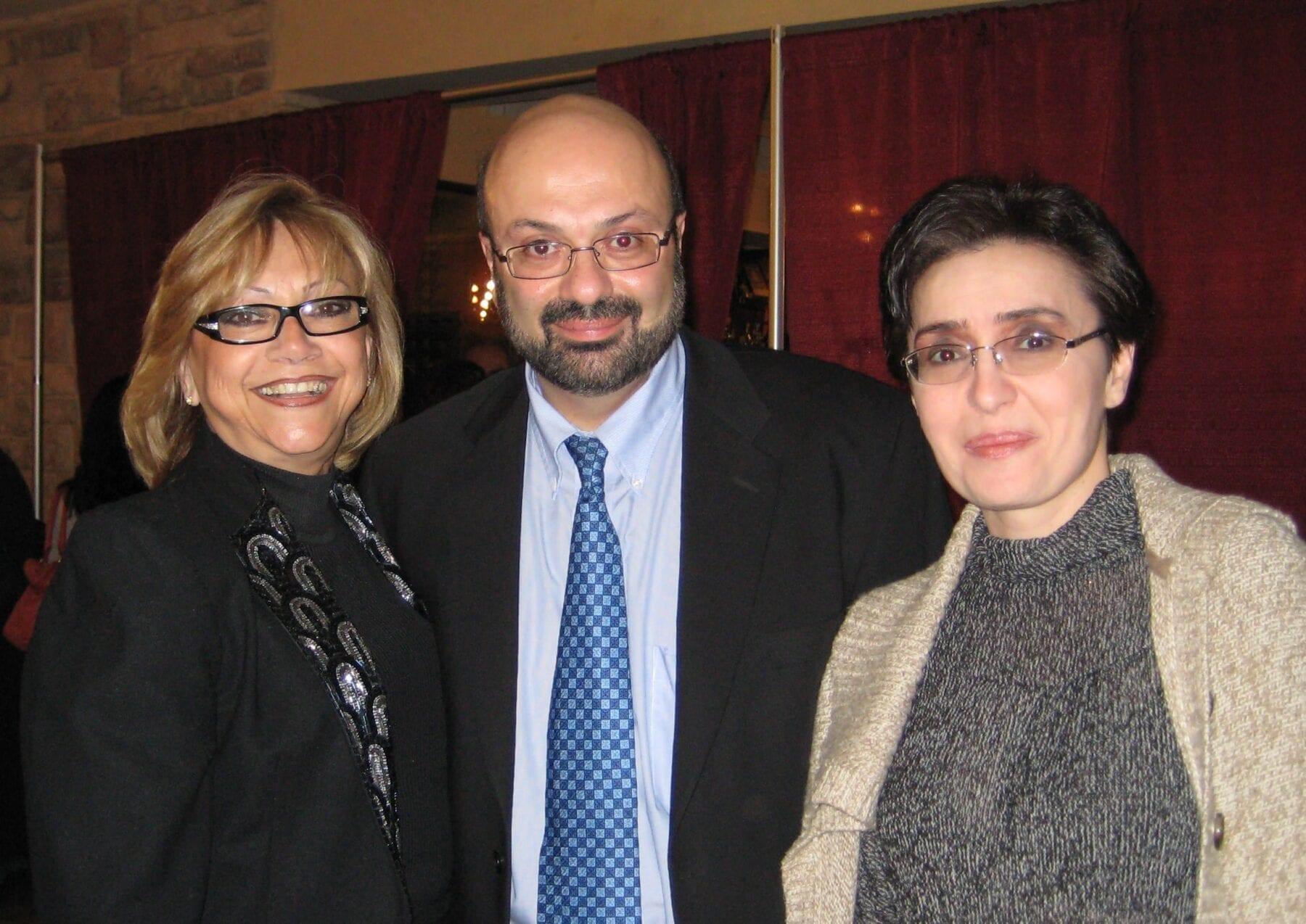 Rima Kamali, Dr. David G. Davtyan And Nune Badalyan At The Weight Loss Surgery Center Of Los Angeles