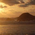 playa ventanas sunset rock